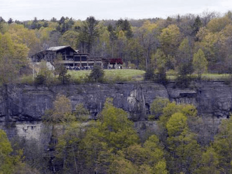 Thacher State Park Visitor's Center